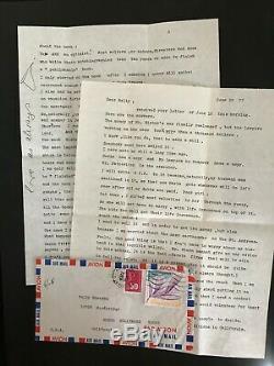 Marlène Dietrich / Archives De L'actrice / 3 Lettres Signées (1977-1978)