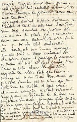 Marquis de SADE Lettre autographe signée à son épouse. Prison de Vincennes 1783