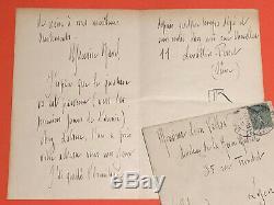 Maurice RAVEL Lettre autographe signée