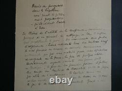 Max Jacob Exceptionnelle Lettre Autographe Signee Inedite Sur Sa Filiation Juive