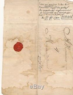 Militaire Anne Jules de NOAILLES maréchal de France lettre autographe signée