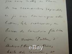 Mistral. Lettre Autographe Signee. 1911. Felibrige