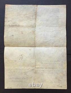 Napoléon Ier Document / lettre signée Campagne Armée d'Italie 1803