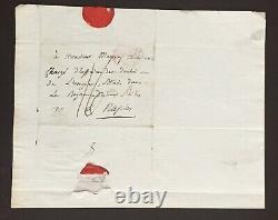 Napoléon Ier Joseph Fouché Duché Lettre autographe signée ALS