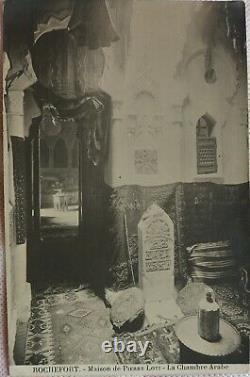 PIERRE LOTI CARTE AUTOGRAPHE SIGNEE chambre arabe LETTRE DE REFUS C. 1910