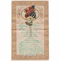 Pablo NERUDA 7 belles lettres autographes signées, dessins et collages
