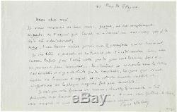 Paul VALÉRY / Lettre autographe signée / Académie Française