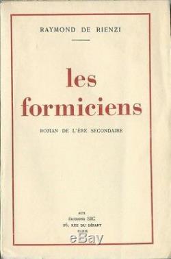 Rare Eo N° Tt Raymond De Rienzi + Lettre Autographe Signée Les Formiciens