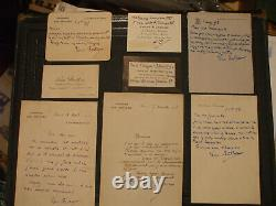 Rare réunion 21 documents LOUIS BARTHOU dont 16 lettres autographes signées