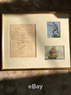 Robert Surcouf / Lettre Signée / Saint-malo (1826) / Commande Pour Son Navire