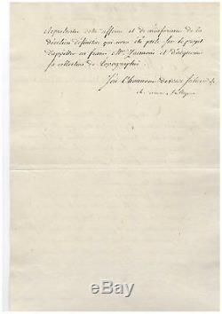 TALLEYRAND / LETTRE SIGNÉE (1804) / ROYAUME DE NAPLES / NAPOLÉON / 1er EMPIRE