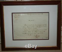 Thomas Robert Bugeaud, Duc d'Isly LAS lettre autographe signée Armée d'Afriq