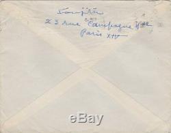 Tsugouharu FOUJITA Lettre autographe signée à Ida KAR Rare Art