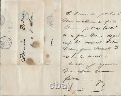 Victor HUGO Lettre autographe signée