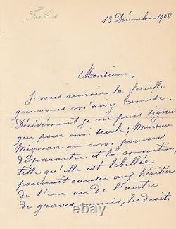 Violon Henriette Fuchs 5 lettre autographe signée cantate bach